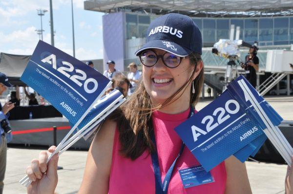 Bombardier CSeries wird zu Airbus A220