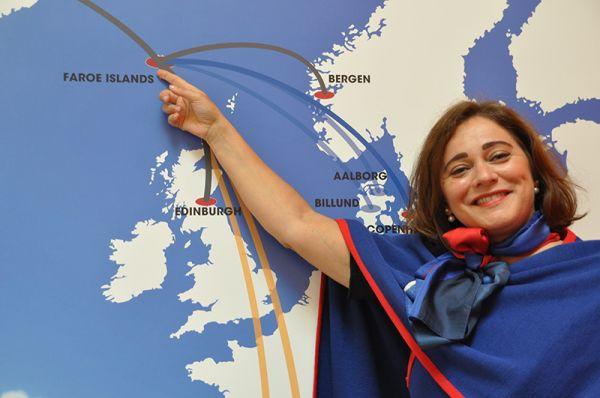 Johanna á Bergi, Atlantic Airways-CEO