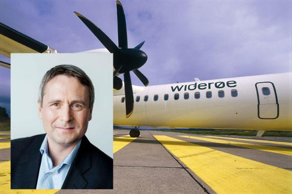 Wideroe-CEO Stein Nilsen