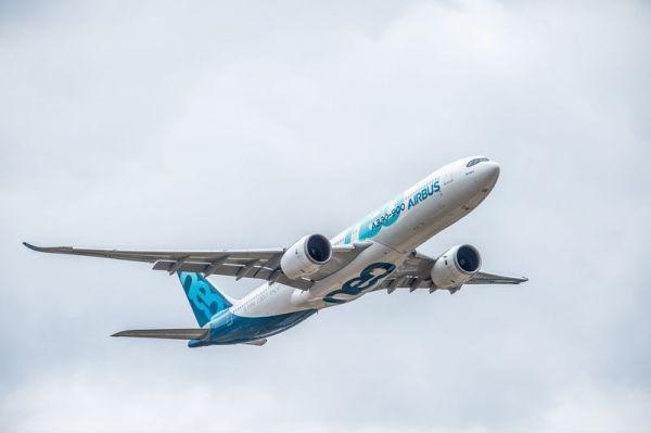 Airbus A330-900 auf der FIA18