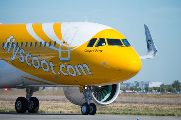 Scoot Airbus A320neo