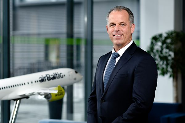 airBaltic-CEO Martin Gauss