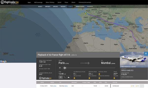 Der Joon-Airbus A340-313 landete sicher in Kuwait