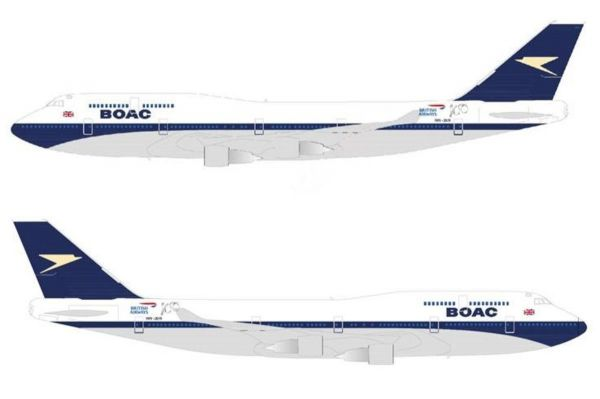 British Airways lässt BOAC aufleben