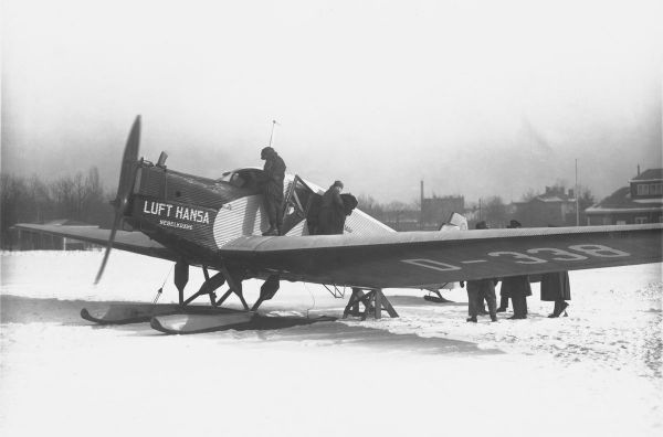 Ab 1926 Jahre: Lufthansa Junkers F13