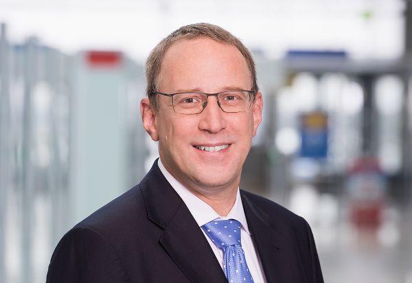 CEO des Flughafens Nürnberg Dr. Michael Hupe