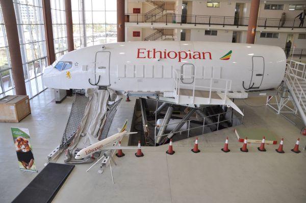 Ethiopian Airlines Boeing 737 Kabinensimulator