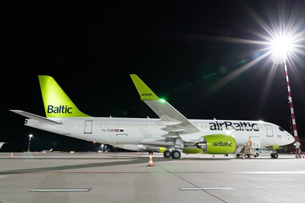 airBaltic Airbus A220-300