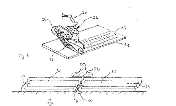 Airbus Patent on structural batteries