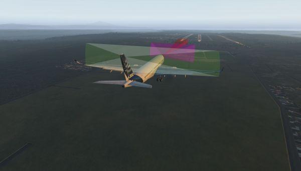 Automatische Landungen ohne ILS-Führung