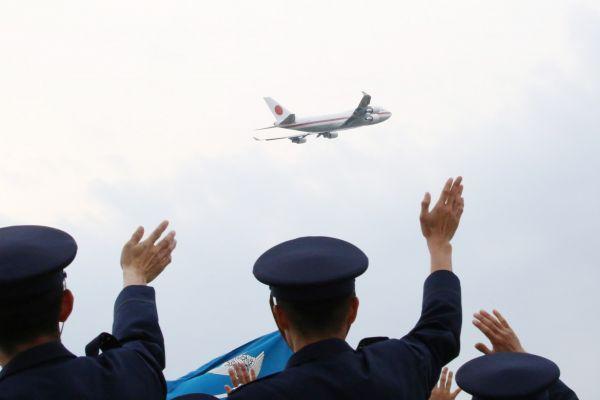 Japans ehemalige Air Force One