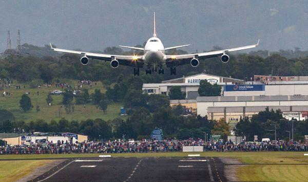Qantas-Rekordflug QF7441