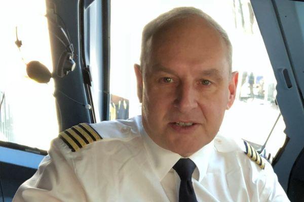 Flugkapitän Claus Cordes