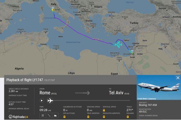 El Al-Flug LY1747: Abschied vom Jumbo