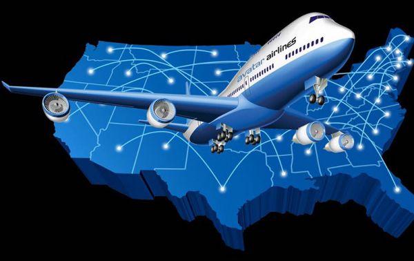 Graphik der Avatar Airlines