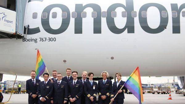 Condor Pride Flight 2019