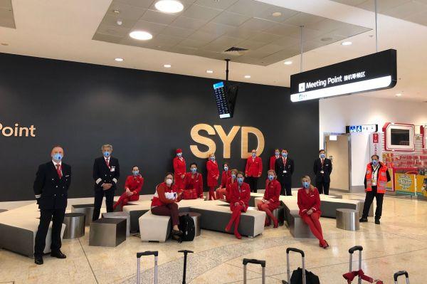 Austrian-Crew in Sydney