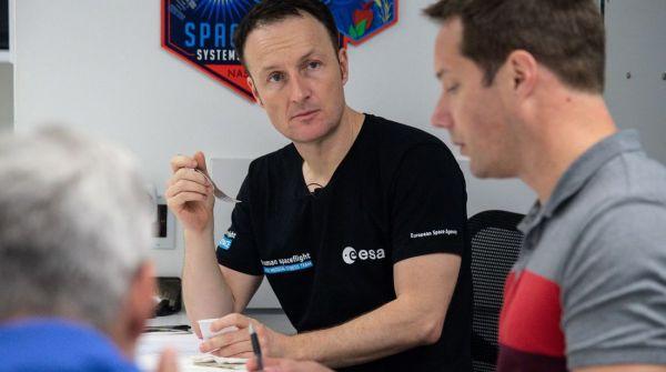 ESA-Astronaut Matthias Maurer
