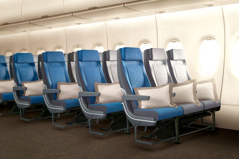 New Airplane Seat Design Airbus