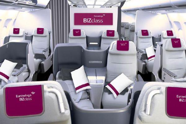Eurowings Bekommt Für Düsseldorf Eine Echte Business Class