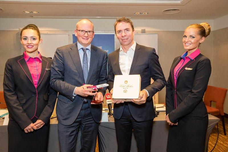 Wizz Air: 17 neue Low-Cost-Verbindungen ab Wien
