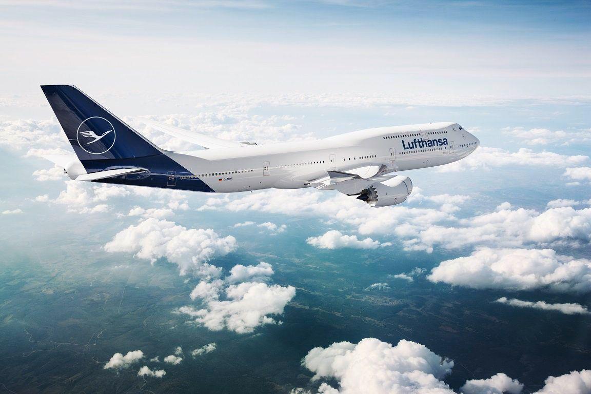 Lufthansa macht blau