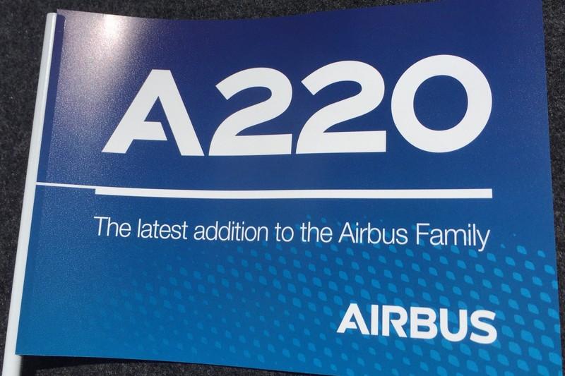 A220: Airbus gibt der C-Serie von Bombardier einen neuen Namen