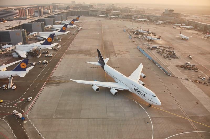 Abflüge Frankfurt Lufthansa