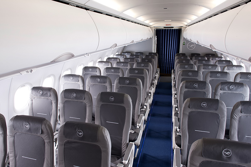 Lufthansa schickt neues bordprodukt in den europaverkehr for Innenraum planen