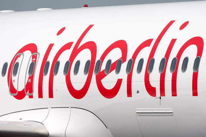 Passagierzahl bei Air Berlin bricht ein
