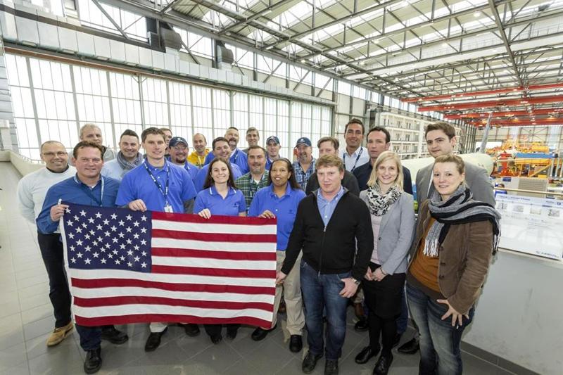 Airbus Hamburg Mitarbeiter