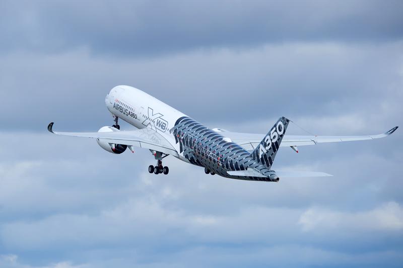 Explosionswarnung für Airbus A350