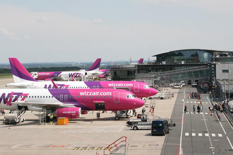 Sommerflugplan 2018: Wizz Air mit neuen Zielen ab Dortmund