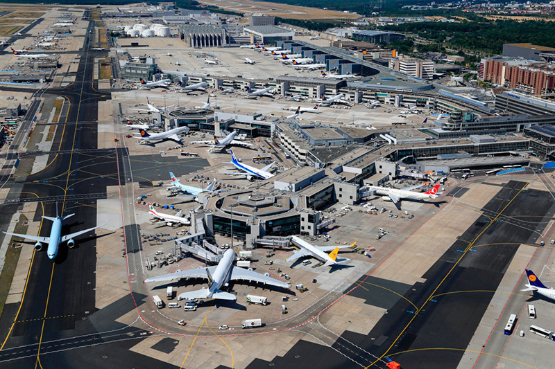 Flughafen Frankfurt Lufthansa Terminal