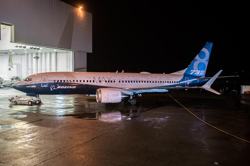 Boeing bereitet Erstflug der 737 MAX vor