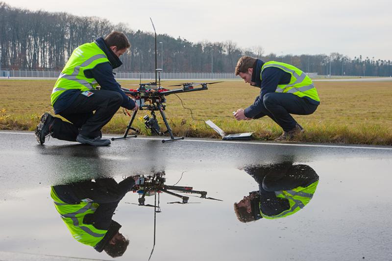Lufthansa treibt Geschäft mit privaten Drohnen voran