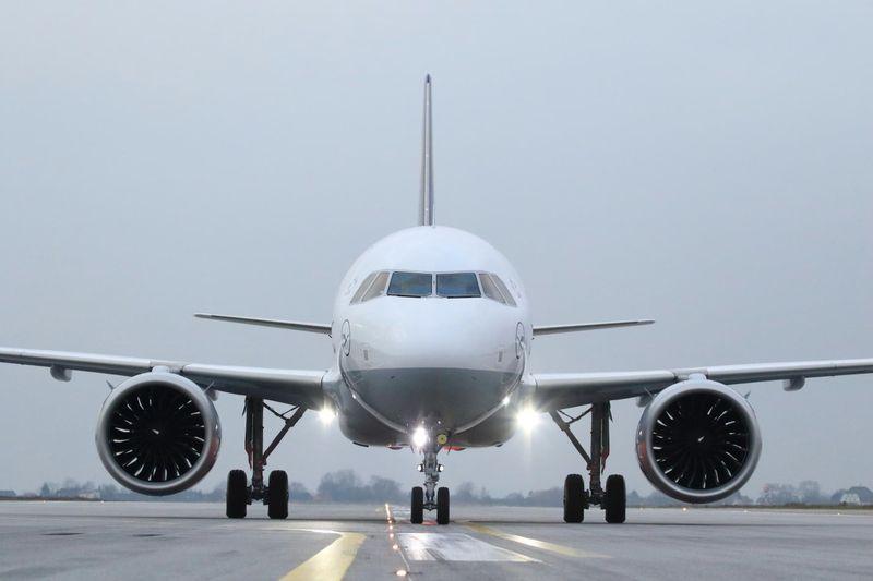 Airbus A320neo fliegt erste Lufthansa-Passagiere