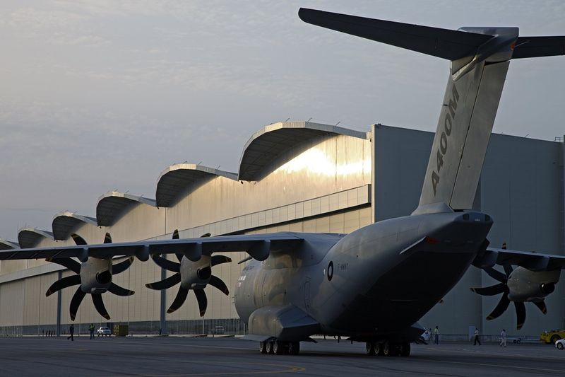 Cargueiro militar vira problema para Airbus